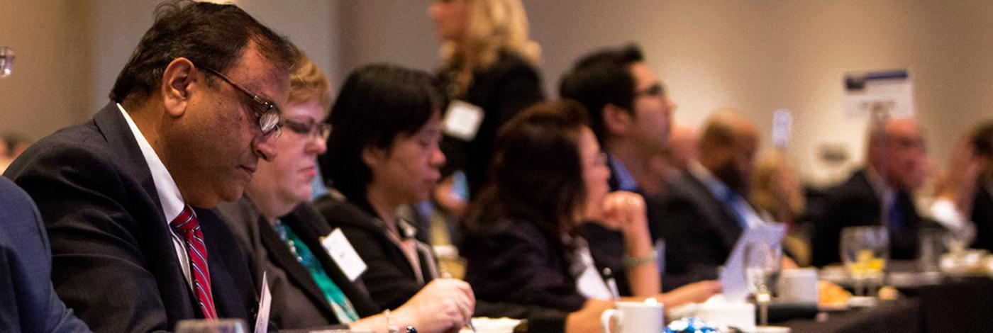 Designation holders at Alumni event