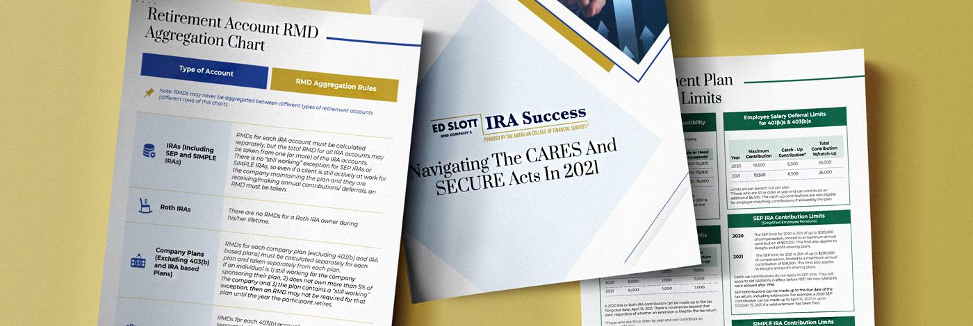 Background for Reasons to Enroll in IRA Success Program