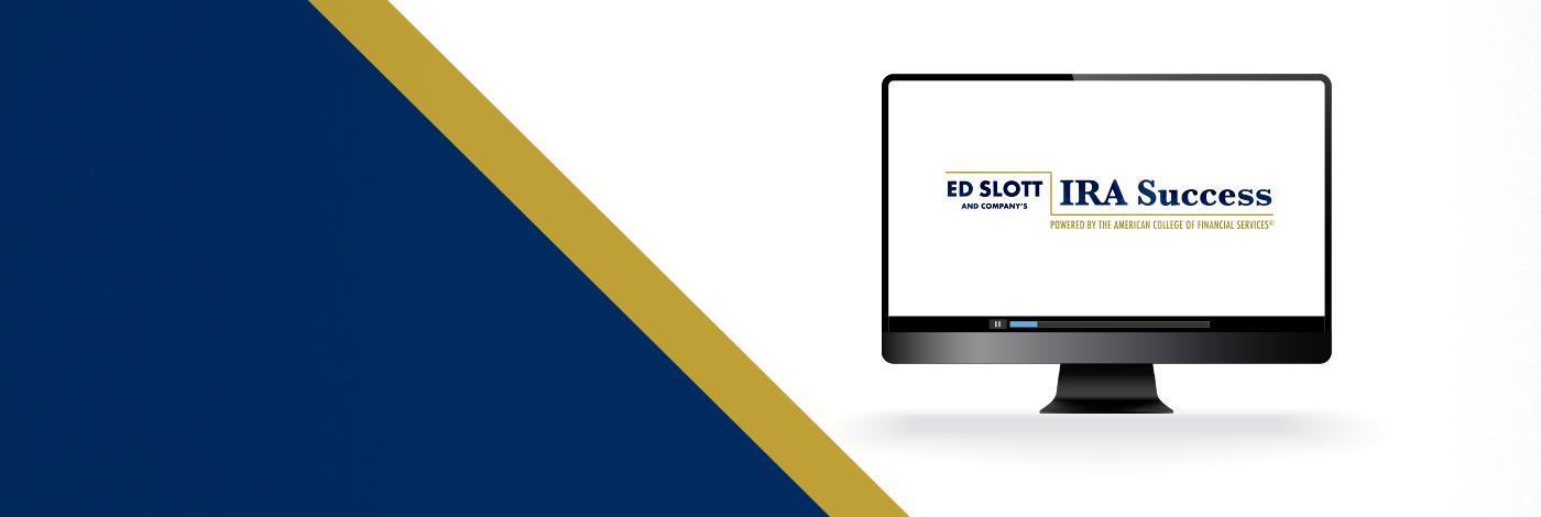 Header background for Ed Slott IRA Success Program