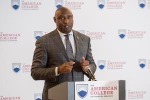 George Nichols III, President and CEO, The American College of Financial Services